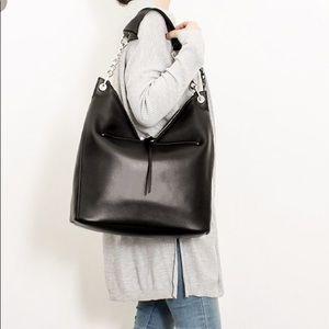 0dbbdd757a Bags   Jimmy Choo Napa Leather Large Raven Shoulder Bag   Poshmark